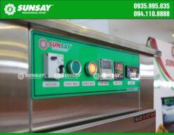 Bảng điều khiển máy sấy lạnh mini 9 khay chuyên sấy thực phẩm SUNSAY