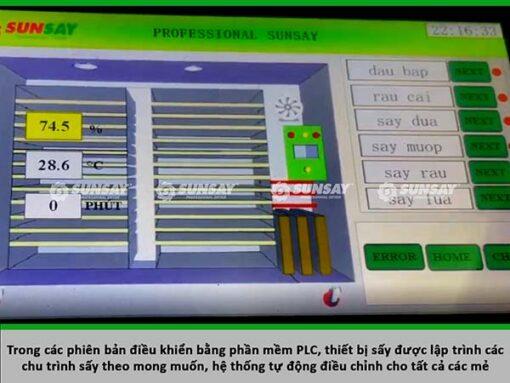 Màn hình điều khiển máy sấy lạnh SUNSAY