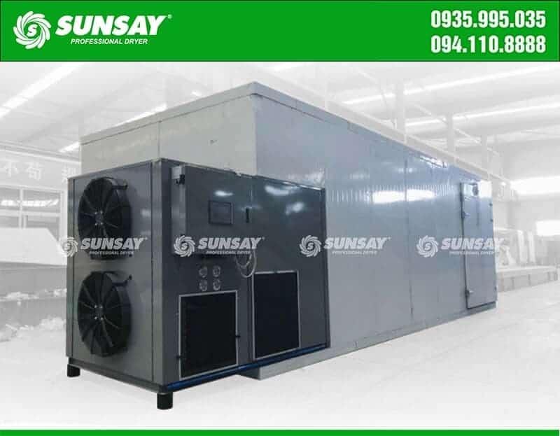 Máy sấy bơm nhiệt công nghiệp 5 Tấn SUNSAY