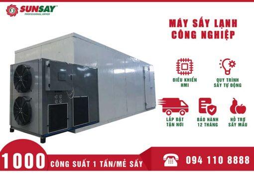 Máy sấy lạnh công nghiệp 1 tấn