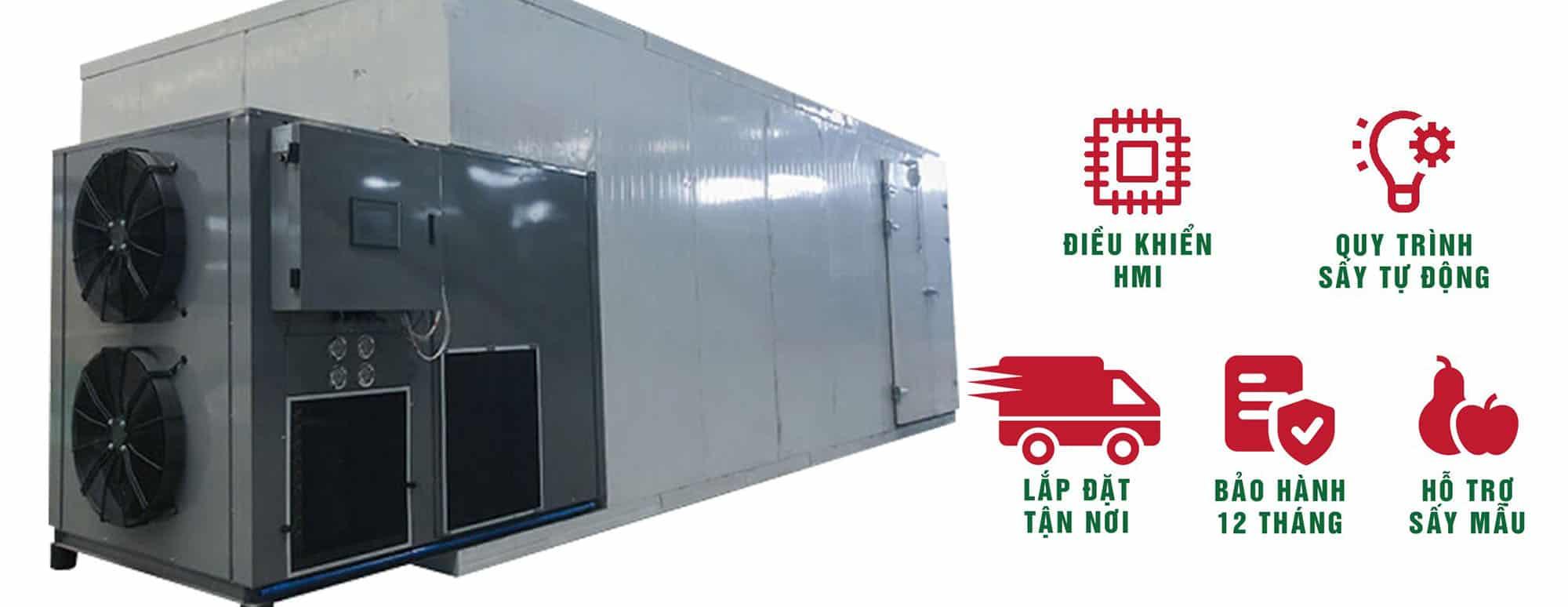 Máy sấy lạnh công nghiệp SUNSAY