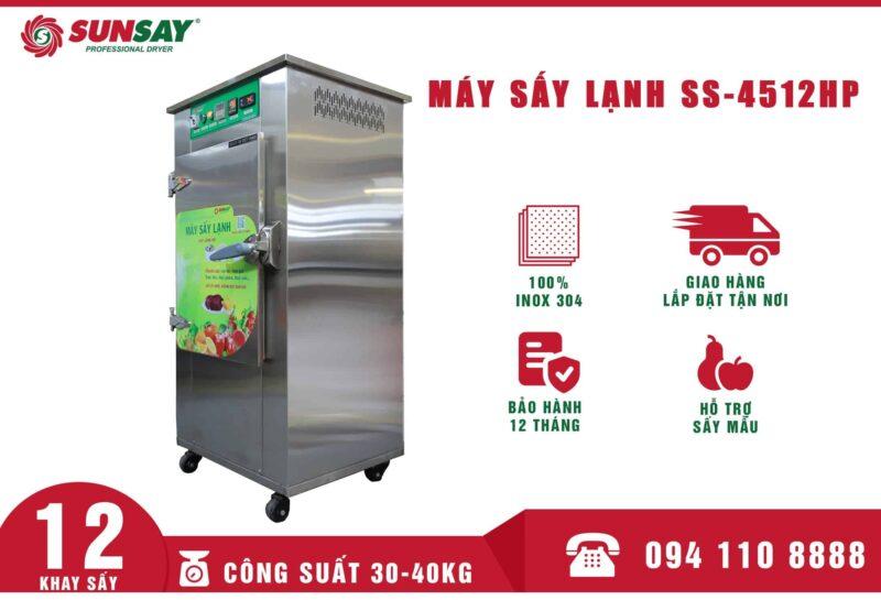 Máy sấy lạnh SUNSAY chuyên sấy lạp xưởng